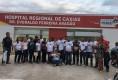 Foto Divulgação – Caravana de Governador Luis Rocha levou mais de 20 pessoas doar sangue